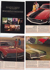 1970 FORD BUYERS DIGEST US Brochure MUSTANG THUNDERBIRD FALCON GALAXIE TORINO