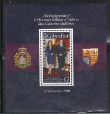 Gibraltar 1266 William and Kate Engagement Mint NH