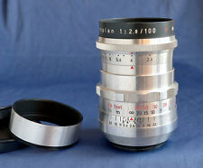 M42 * Meyer Optik Gorlitz TRIOPLAN 2.8 / 100mm red V * bokeh wonder * nice