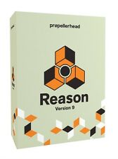 Propellerhead Reason 9 Full Retail Version DAW Software Factory Sealed NEW