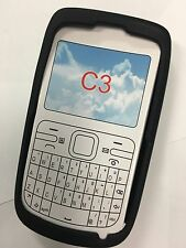 Nokia C3-00 Silicon Case in Black SCC4478BK. Brand New Sealed Original packaging