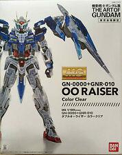 Bandai MG 00 Raiser GN-0000+GNR-010 Tokyo Limited Gundam Clear Colour Models