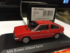 MINICHAMPS 1 43 ALFA ROMEO ALFASUD SPRINT LIMITED 1632 PCS NEW VERY  RARE