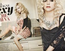 Q29 Clipping Ritaglio 2011 Avril Lavigne Sexy perchè mi va