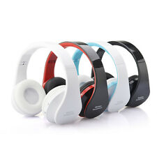 Protable Foldable Wireless Headset Bluetooth 3.0 Stereo Handsfree Headphones Mic