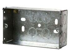 2 GRUPPO METAL BOX 47mm Deep più distaffature regolabile LUG pacchetto di cinque
