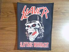 SLAYER,SLAYTANIC WEHRMACHT,SUBLIMATED LARGE BACK PATCH