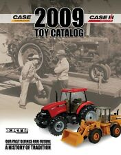 ERTL 2009 CASE IH LARGE TOY CATALOG 1/64 1/50 1/16
