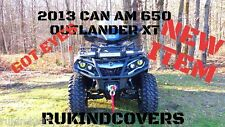 2013 YELLOW  Eyes CAN AM 650 OUTLANDER XT SAND DUNES RUKINDCOVERS