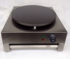 Crepe Maker Pancake Machine Single Hotplate Electric Fryer Commercial Grill