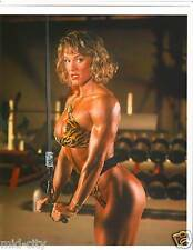 CORY EVERSON Ms Olympia Female Bodybuilding Muscle Photo Color