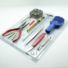 16 Pc Watch Repair Kit De Herramienta Pin Set y posterior Removedor De Kit