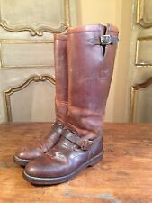 VIntage Chippewa Lineman Engineering Campus Motorcycle Boots Mens 7 D