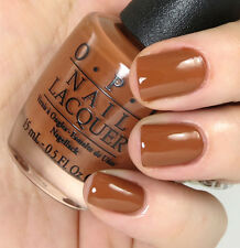NEW! OPI NAIL POLISH Nail Lacquer in A-PIERS TO BE TAN - Creamy Chocolate Tan