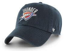 Oklahoma City Thunder 47 Brand NBA Strapback Adjustable Dad Cap Hat Clean Up OKC