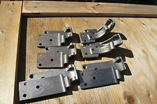1933 1934 3 WINDOW COUPE DOOR HINGE SET, 12 HINGE PIECES, MADE IN USA BY SAR