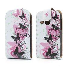 Flip Case/Handy-Hülle zu Samsung Galaxy Young/GT-S6310 - S01 Tasche/Schutz-Cover