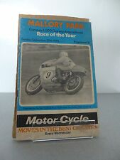 Mallory Park Carreras International Motor Cycle Race Programme 20 September 1970