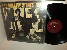 THE ROLLING STONES, NOW! 1965 1P LONDON LL3420 MONO MAROON LABEL UNBOXED U.S. LP