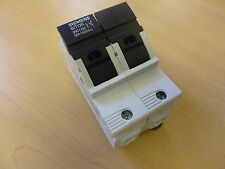 Siemens SITOR 3NC1492 Fuse Holder 2 Poles 50A 690V with 2A fuses (11647)