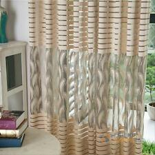 Modern Room Decor Voile Door Window Curtain Drape Panel Sheer Scarf Valances