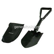 LARGER HEAVY DUTY ALL STEEL FOLDING CAR SNOW SHOVEL INCLUDING CASE SNOW DRIFT