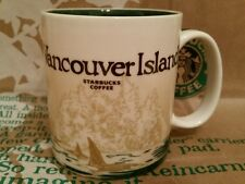 Starbucks Coffee Mug/Tasse/Becher VANCOUVER ISLAND, Global Icon,NEU mit Sticker!