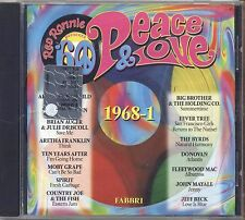 RED RONNIE - Peace & lOVE 1968-1 - APHRODITE'S CHILD DONOVAN THE BYRDS COHEN CD