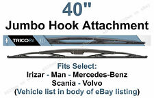 "40"" Wiper Blade Scania Citywide & Omni Express Bus w/16x6 Hook Arms 1pk 67404"