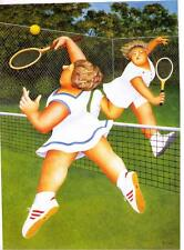"BERYL COOK ~ ""LADIES MATCH""   ~ MOUNTED PRINT  - A"
