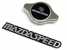 STAINLESS STEEL 1.3KG RACING RADIATOR CAP + FREE ALUMINUM EMBLEM FOR MAZDA