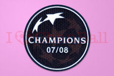 UEFA Champions League Winner 2007-2008 Manchester United Soccer Patch / Badge
