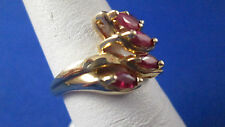 14 K Yellow Gold Ruby Ring