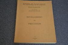 Nivellement de précision jean Vignal 1955 (F4)
