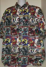 ECKO UNLTD Marvel SpiderMan Silver Surfer Black Widow Panther Vulture Shirt