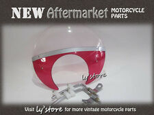 [197] HONDA CUB PASSPORT C50 C65 C70 C90 CM90  WIND SHIELD [RED]