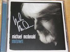 Michael McDonald - Motown (Autographed CD) Doobie Brothers