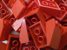 LEGO 3298 @@ Slope 33 3 x 2  (x10) @@ RED @@ ROUGE @@ 5986 4610 6597 6571 6083