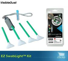 Visible Dust EZ Sensor Clean kit 1.0x / 24 mm green 4 Vswab + Liquid + SwabLight