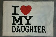 Custom I LOVE MY DAUGHTER Safety Flag 4 Offroad JEEP ATV UTV Bike  Whip Pole