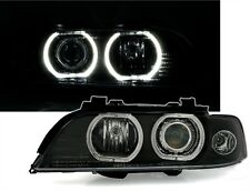 CCFL XENON D2S ANGEL EYE HEADLIGHTS HEADLAMPS FOR BMW E39 5 SERIES 9/95-8/00