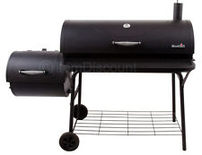 Char-Broil 1280 Offset Barrel Smoker Grill BBQ Pit Charcoal Wood Meat Portable