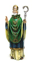 Statue St. Patrick 6.5 inch Painted Resin Joseph Studio Patron Saint Catholic