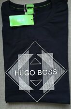 Hugo Boss BOSS Mens t-shirt Top Green Label BNWT New Deep Navy size XL