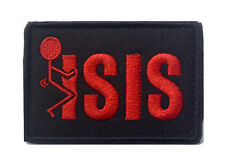 F*CK ISIS USA INFIDEL ISAF U.S. ARMY 3D MILITARY TACTICAL MORALE HOOK PATCH *03