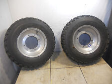 yamaha banshee warrior yfz raptor 350 450 660 700 blaster front tires and wheels