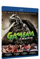 Gamera: 4-Movie Collection, Vol. 2 (Blu-ray Disc, 2014)