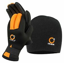 NEOPRENE WHEATERPOOF WINTER COMBO/ GLOVES + HAT CELSIUS NG-HAT Size: Large