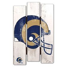 """ST. LOUIS RAMS FENCE WOOD SIGN 11""""X17'' BRAND NEW FREE SHIPPING WINCRAFT"""
