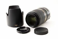 Tamron SP A005 70-300mm F4-5.6 VC USD Di For Sony/Minolta w/Hood [Exc+++!] #204